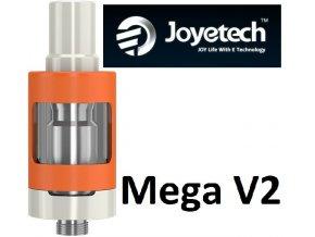 3746 joyetech ego one mega v2 clearomizer 4ml orange