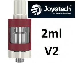 3731 joyetech ego one v2 clearomizer 2ml red