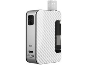 67538 4 joyetech exceed grip full kit 1000mah carbon white