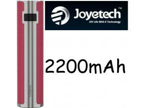 10294 joyetech unimax 22 baterie stribrno cervena 2200mah