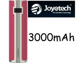 5516 joyetech unimax 25 baterie 3000mah silver red