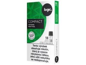 JTI Logic Compact cartridge Intense Menthol 18mg