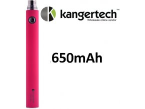 1469 kangertech evod baterie 650mah pink