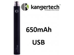 Kangertech EVOD baterie s USB 650mAh Black