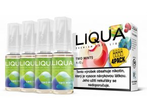 liqua cz elements 4pack two mints 4x10ml chut maty a mentolu