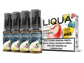 LIQUA MIX 4Pack Mango Milkshake 10ml 3mg