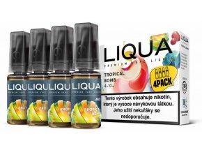 LIQUA MIX 4Pack Tropical Bomb 10ml 12mg