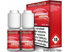 44272 liquid ecoliquid premium 2pack cranberry 2x10ml 3mg brusinka