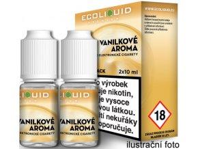 44317 liquid ecoliquid premium 2pack vanilla 2x10ml 3mg vanilka