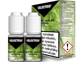 48784 liquid electra 2pack green apple 2x10ml 16mg zelene jablko