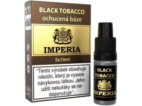46172 ochucena baze imperia black tobacco 5x10ml 6mg
