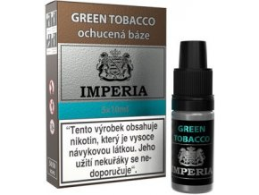46223 ochucena baze imperia green tobacco 5x10ml 6mg