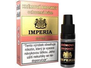 46193 ochucena baze imperia kremova broskev 5x10ml 0mg