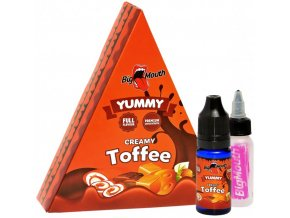big mouth yummy creamy toffee