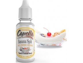4163 prichut capella 13ml banana split bananovy split