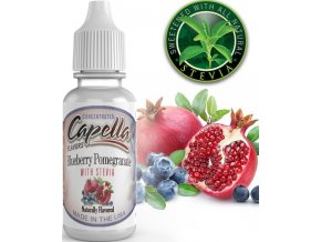 4157 prichut capella 13ml blueberry pomegranate with stevia
