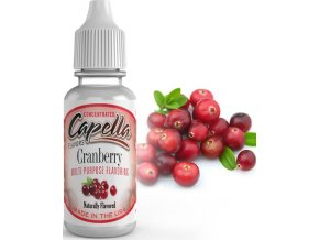 4190 prichut capella 13ml cranberry brusinka