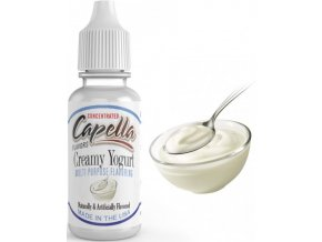 44856 prichut capella 13ml creamy yogurt kremovy jogurt