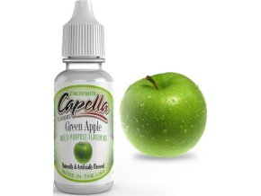 4205 prichut capella 13ml green apple zelene jablko