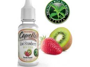 65186 prichut capella 13ml kiwi strawberry with stevia kiwi jahoda stevie