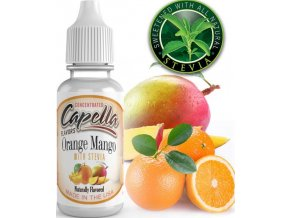 4271 prichut capella 13ml orange mango with stevia