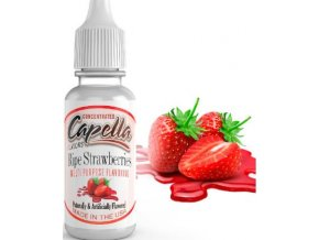 65192 prichut capella 13ml ripe strawberry zrale jahody