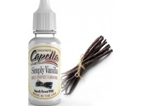 24016 prichut capella 13ml simply vanilla cista vanilka