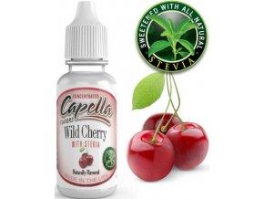 65198 prichut capella 13ml wild cherry with stevia tresen se stevii