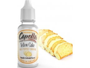 5144 prichut capella 13ml yellow cake piskotovy korpus