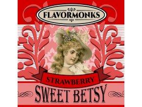 45562 prichut flavormonks 10ml sweet betsy strawberry jahoda