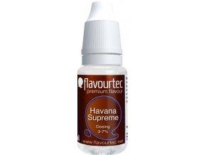 45232 prichut flavourtec havana supreme 10ml havansky doutnik