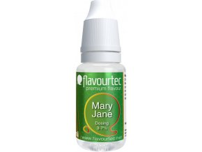 45259 prichut flavourtec mary jane 10ml oblibena zelena rostlina