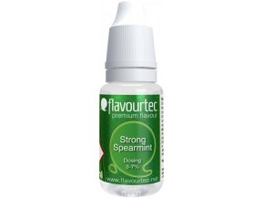 45310 prichut flavourtec strong spearmint 10ml silna mata