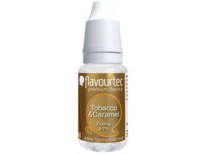 45325 prichut flavourtec tobacco and caramel 10ml tabak a karamel