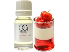 46683 prichut tpa 10ml strawberries and cream jahodovy krem
