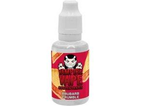 67667 prichut vampire vape 30ml rhubarb crumble
