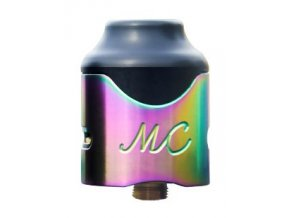 46409 smokjoy mushroom cloud rda clearomizer rainbow