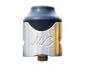 46412 smokjoy mushroom cloud rda clearomizer silver