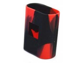 14597 smoktech al85 silikonove pouzdro black red