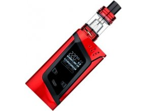 46626 smoktech alien tc 220w grip full kit red black