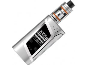 4556 smoktech alien tc 220w grip full kit silver
