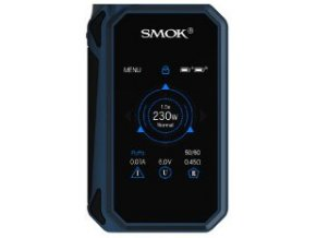 14491 smoktech g priv 2 tc 230w grip easy kit blue black