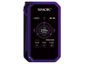 14500 smoktech g priv 2 tc 230w grip easy kit purple black