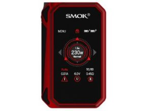 14503 smoktech g priv 2 tc 230w grip easy kit red black