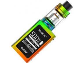 7169 smoktech qbox tc 50w grip full kit rainbow