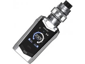 Smoktech Species TC230W Grip Full Kit Prism Chrome and Black  + eliquid zdarma