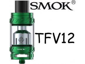 8689 smoktech tfv12 beast clearomizer green