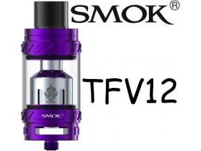 8692 smoktech tfv12 beast clearomizer purple