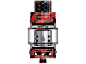 49783 smoktech tfv12 prince cloud beast clearomizer red camouflage