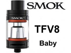 4328 smoktech tfv8 baby clearomizer black